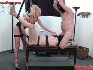 Two slaves and mistress ariel