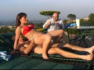Cuckolding with young wife...
