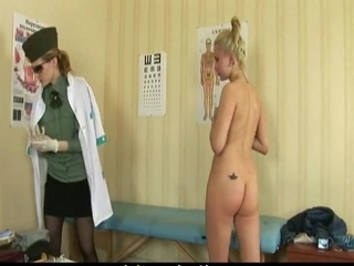 Ass Blonde Glasses Tattoo Teen Uniform