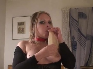 Blonde Mature Toy