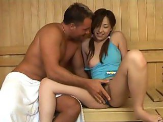 Asian Teen Sucks Cock And Gets Pounded