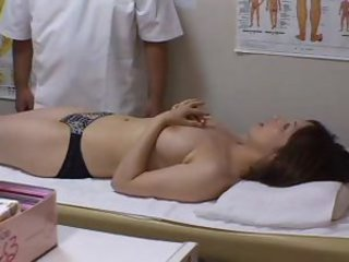 Long massage and Japanese fuck scene