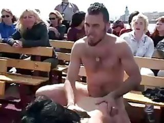 public fucking on boat part 1