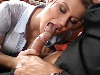 An Amazing Office Fuck With A Ho...