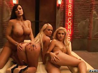 Brandy Smile And Lisa Ann With H...