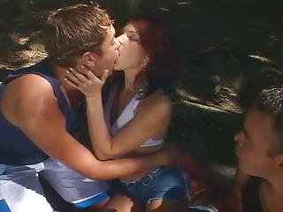 Sizzling Hot Threesome Bisexual...