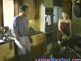 Young Blond Lesbians Having Outd...