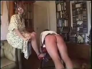 More females spanking naughty males