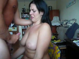 Jackoff On Her Tits