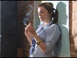 jazz smoking schoolgirl slut
