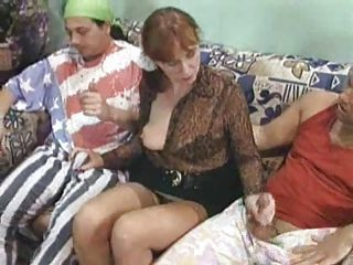 Granny Group Sex Gangbang