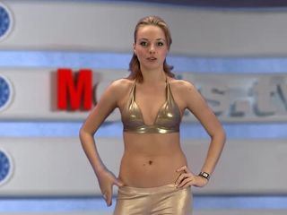 russian Moskow girl TV Alena