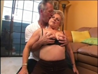 granny fucks with old man
