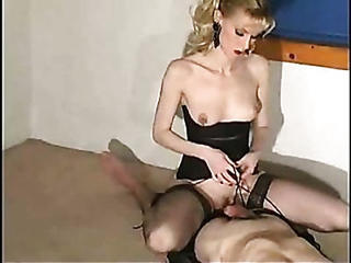 Handjob With Insertion & Facesitting