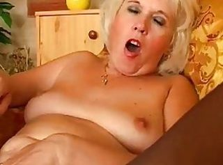 Blonde Masturbating Mature