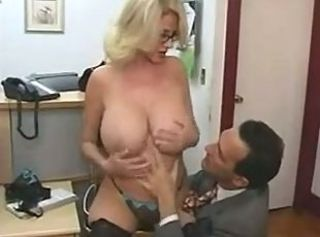 Alluring old lady forth amazing giant boobs