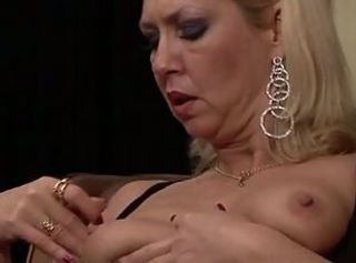 Blonde German Granny Nipples
