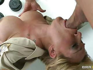 Scorching Tyler Faith Slurps On This Hard Fuck Stick