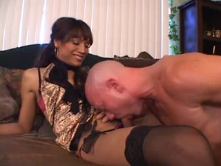TS Fucking a Guy Silly 2
