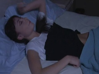 Brunette Sleeping Teen