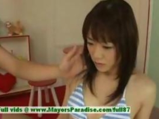 Mai Uzuki, Asian Beauty Gets Nipples Licked And Kiss...
