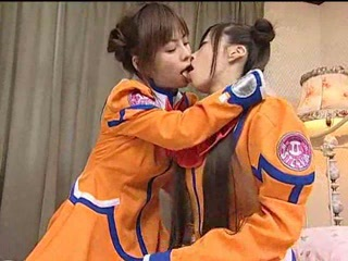 Asian Japanese Kissing Teen Uniform