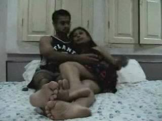 Indian Newly Married Couple Enjoying Their Honeymoon...