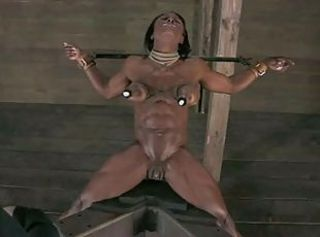 Ashley Starr Gets Broken _: bdsm black and ebony gaping hardcore toys