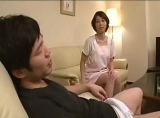 Okaasan Tamaki Part 4 _: japanese matures old+young