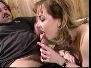 Busty Letha Weapons gives Ron...