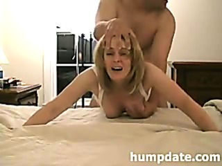 Hot MILF gets doggystyled and...