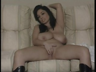 Big Tits British Chubby European Masturbating  Natural