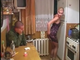 Amateur Drunk Homemade Kitchen Russian Teen