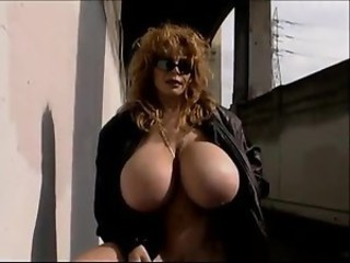 Amazing Big Tits  Outdoor