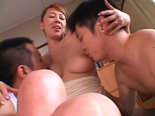 Asian Japanese  Nipples Threesome
