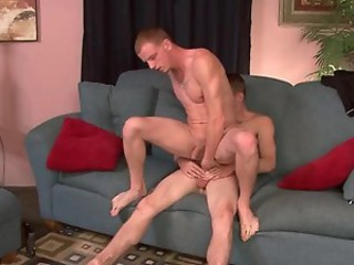 Lifelong str8 buddies fuck for cash