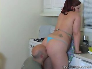Ass Bikini Chubby Kitchen Licking  Tattoo