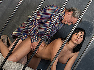 Doggystyle Old and Young Prison Teen