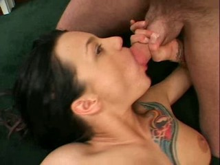 Babe Blowjob Casting Tattoo
