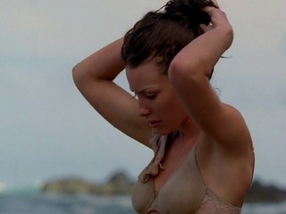 Evangeline Lilly bra and panties