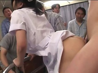 Asian Clothed Doggystyle Gangbang Hardcore Japanese Nurse Uniform