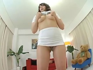 Asian Japanese  Pantyhose Stripper Wife
