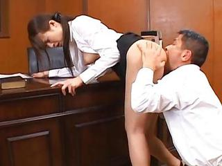 Asian Clothed Japanese Licking  Teacher