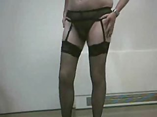 Sombre Stockings Cum