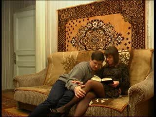 Russian Housewife Gets Fucked