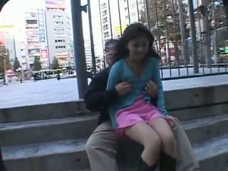 Asian Japanese Outdoor Public Teen