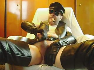Leather Cigar Wank