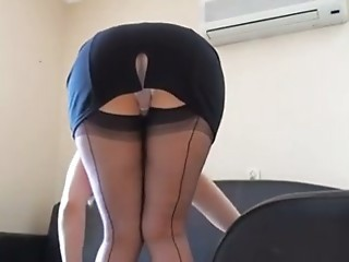 Ass Maid  Stockings Upskirt Voyeur