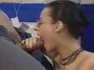 Blowjob Glasses  Office Secretary