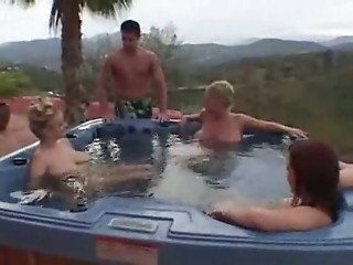 Groupsex  Outdoor Pool